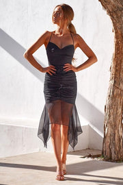 Rumi Dress - Black - SHOPJAUS - JAUS
