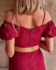 Monica Set - Red - SHOPJAUS - JAUS