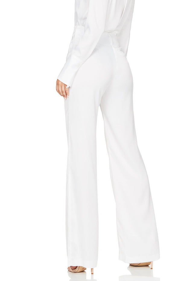 Nookie Sasha Satin Pants - White