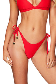 Nookie Savannah Tie Side Briefs - Red - SHOPJAUS - JAUS