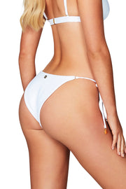Nookie Savannah Tie Side Briefs - White - SHOPJAUS - JAUS