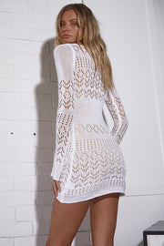 Miranda Crochet Mini - White - SHOPJAUS - JAUS