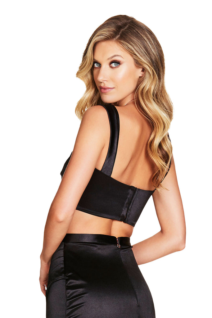 Nookie Slay Crop - Black