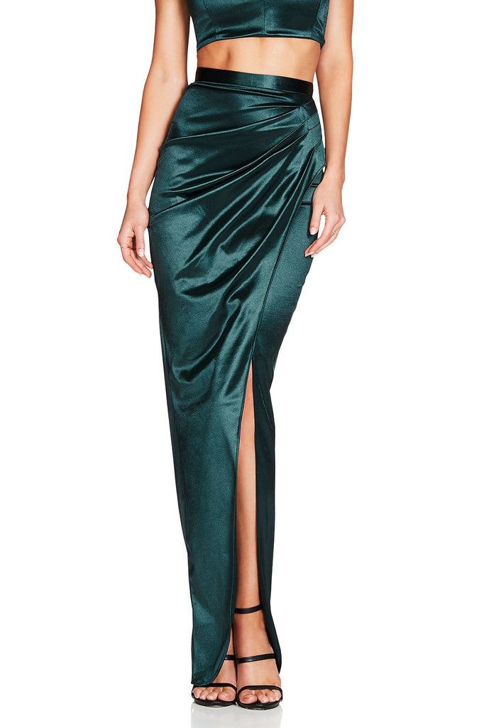 Nookie Slay Skirt - Emerald
