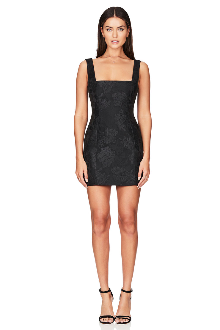 Nookie Solana Mini Dress - Black - SHOPJAUS - JAUS