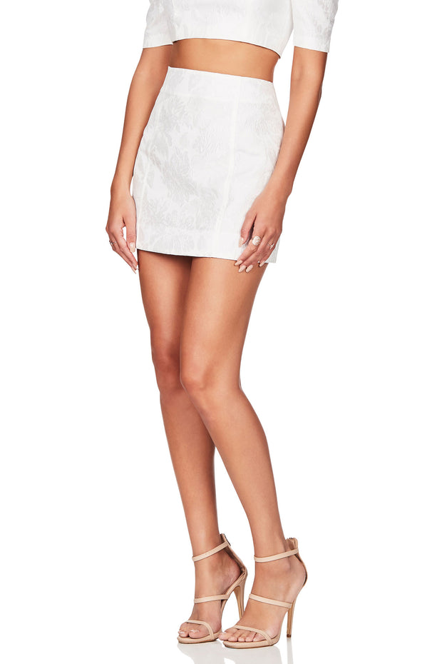 Nookie Solana Skirt - White - SHOPJAUS - JAUS