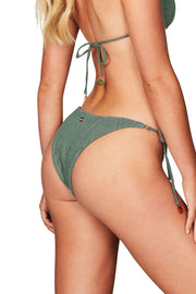 Nookie Sugarbaby Ring Tie Side Briefs - Khaki - SHOPJAUS - JAUS