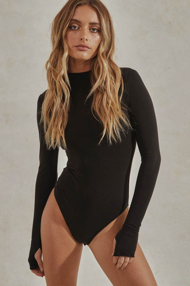 Cyrus Bodysuit - Black