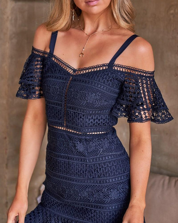 Sao Paolo Dress - Navy - SHOPJAUS - JAUS