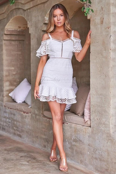 Sao Paolo Dress - White - SHOPJAUS - JAUS