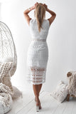 Scarlett Dress - White (PREORDER)