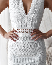 Scarlett Dress - White - SHOPJAUS - JAUS