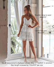 Shelby Dress - White - SHOPJAUS - JAUS