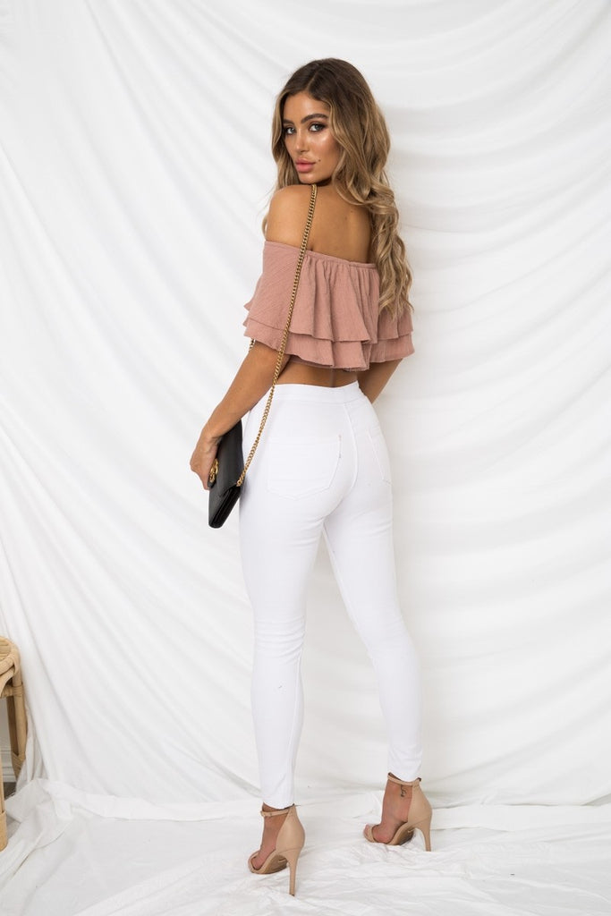 Shelby Top - Mauve