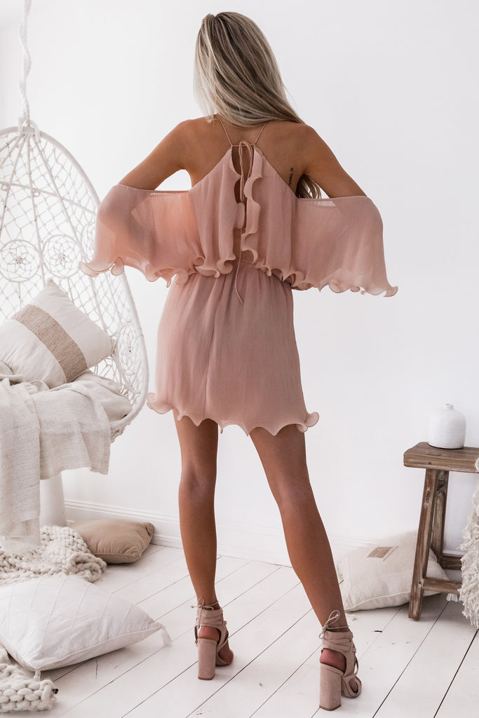 Sicily Dress - Dusty Peach