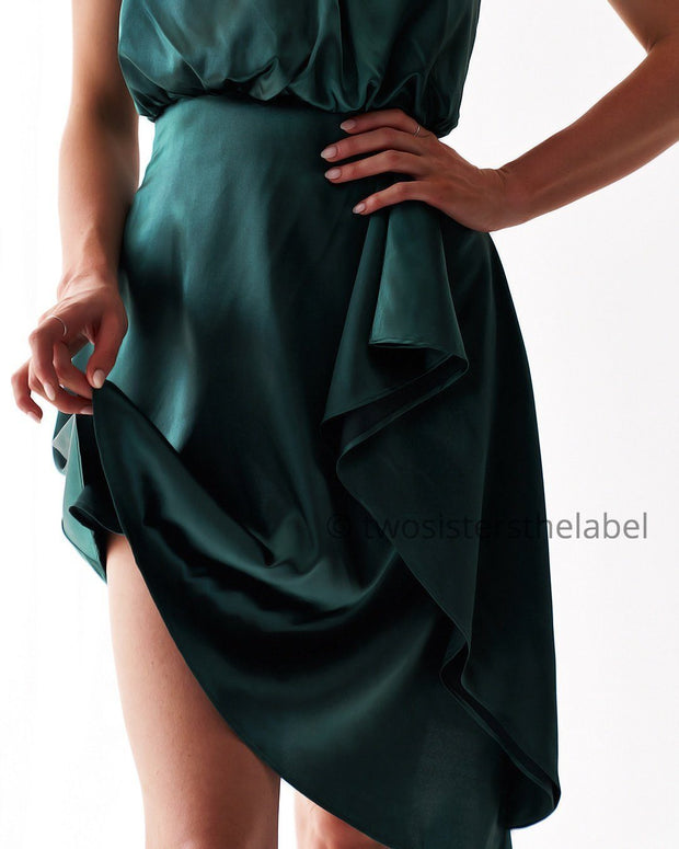 Sierra Dress - Green - SHOPJAUS - JAUS