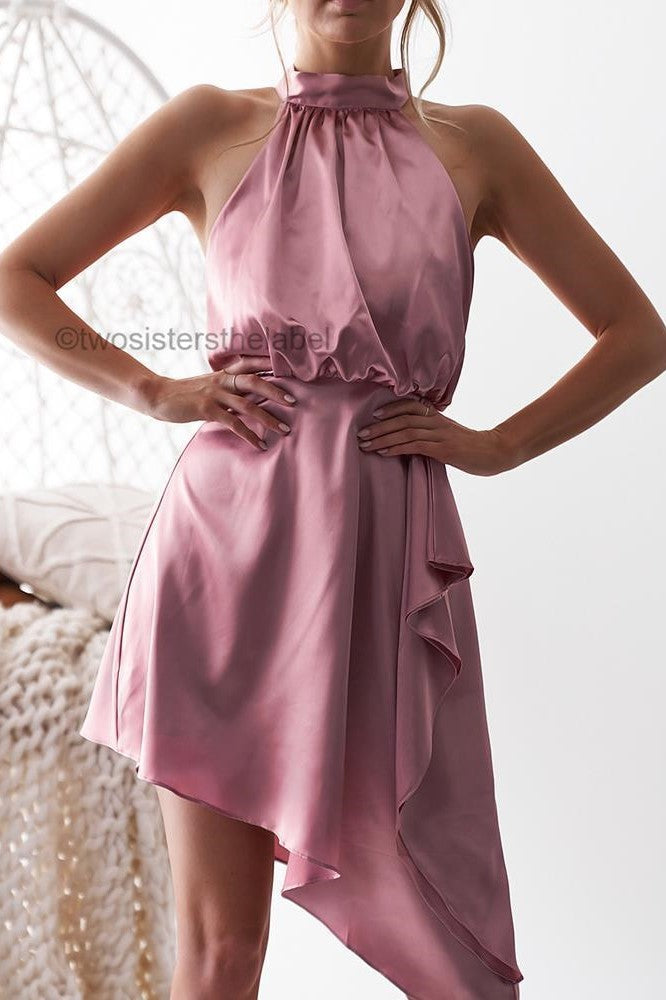 Sierra Dress - Pink - SHOPJAUS - JAUS