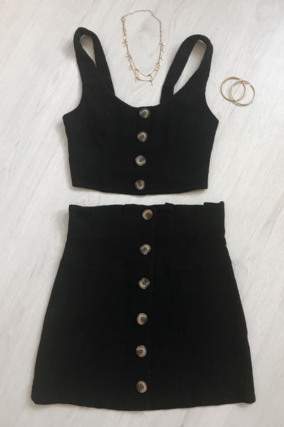 Blair Top - Black - SHOPJAUS - JAUS