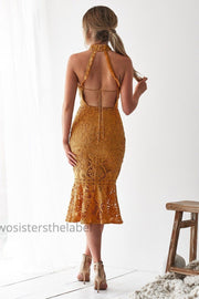 Sonia Dress - Mustard - SHOPJAUS - JAUS
