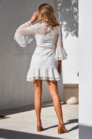 Stacey Dress - White - SHOPJAUS - JAUS