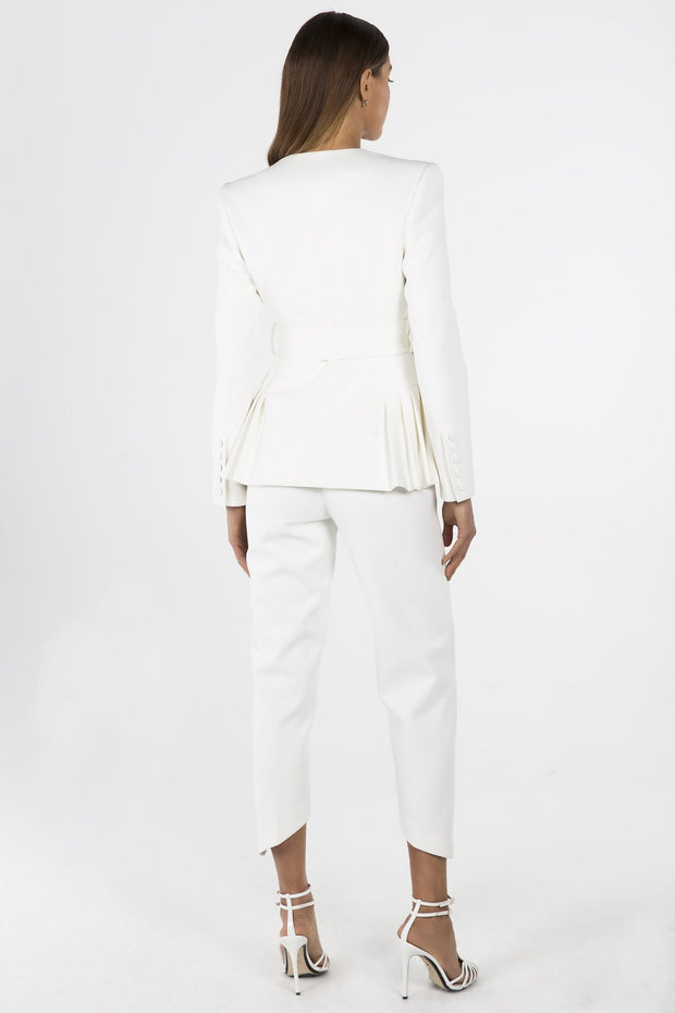 Misha Collection Tamina Blazer - Ivory - SHOPJAUS - JAUS