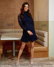 Aliya Dress - Navy