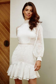 Aliya Dress - White