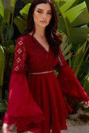 Darcy Dress - Red