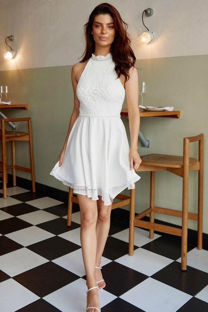 Germaine Dress - White