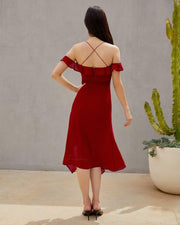 Alana Dress - Red