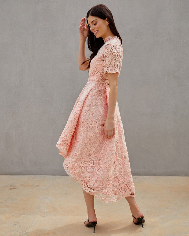 Jasmyn Dress - Light Pink