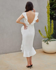 Katie Dress - White
