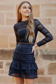 Phoebe Dress - Navy