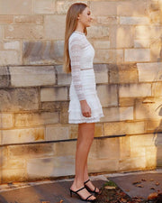 Phoebe Dress - White