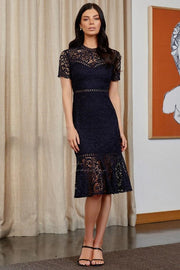 Tiana Dress - Navy