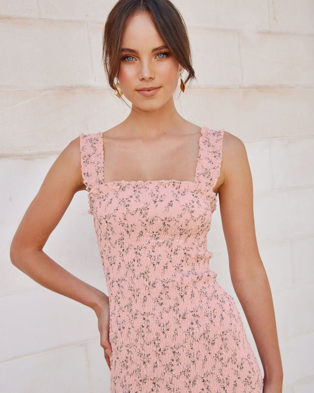 Mellie Dress - Pink Floral