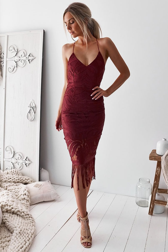 Khaleesi Dress - Rose - SHOPJAUS - JAUS