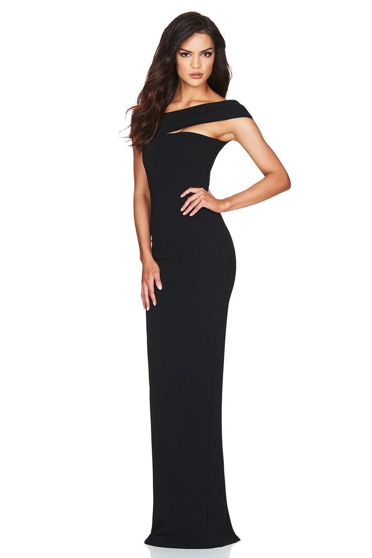 Nookie Tyler Gown - Black - SHOPJAUS - JAUS