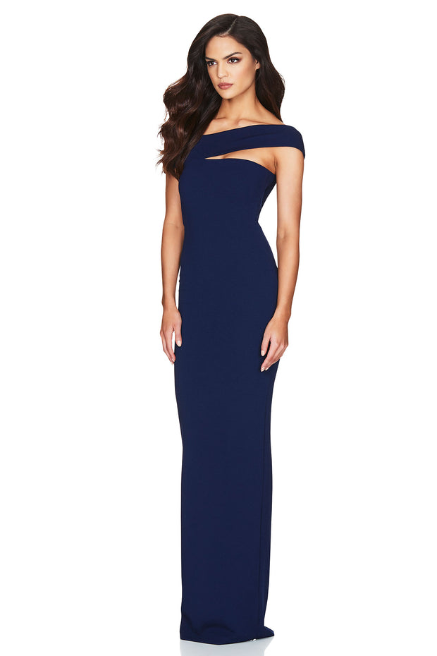 Nookie Tyler Gown - Navy - SHOPJAUS - JAUS