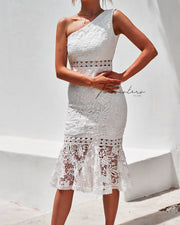 Tamara Dress - White - SHOPJAUS - JAUS
