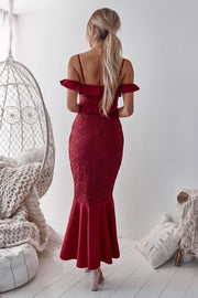 Taylor Dress - Red - SHOPJAUS - JAUS