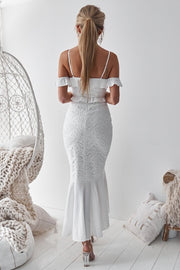 Taylor Dress - White - SHOPJAUS - JAUS