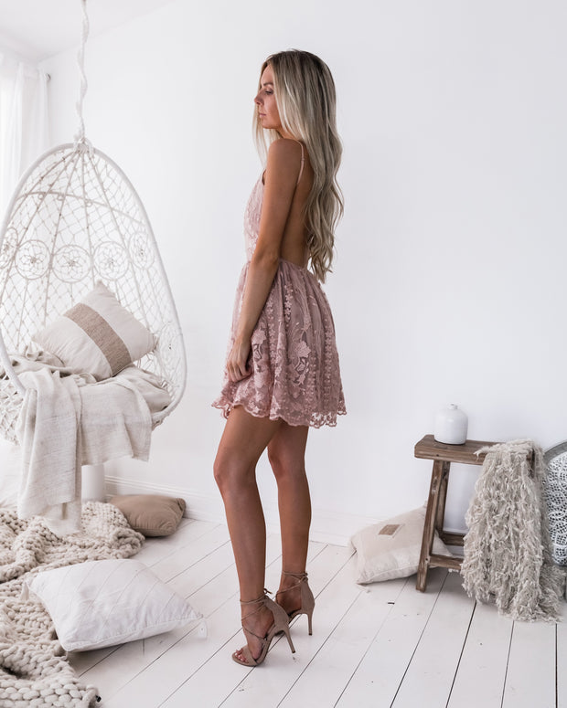 Clara Dress - Pink - SHOPJAUS - JAUS