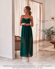 Jaycee Dress - Green - SHOPJAUS - JAUS