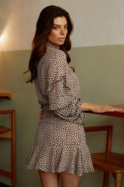 Piper Dress - Leopard