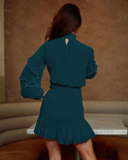 Piper Dress - Teal