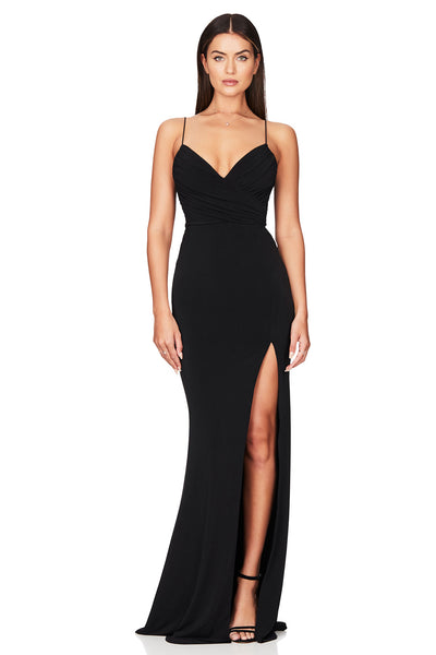 Nookie Venus Gown - Black - SHOPJAUS - JAUS
