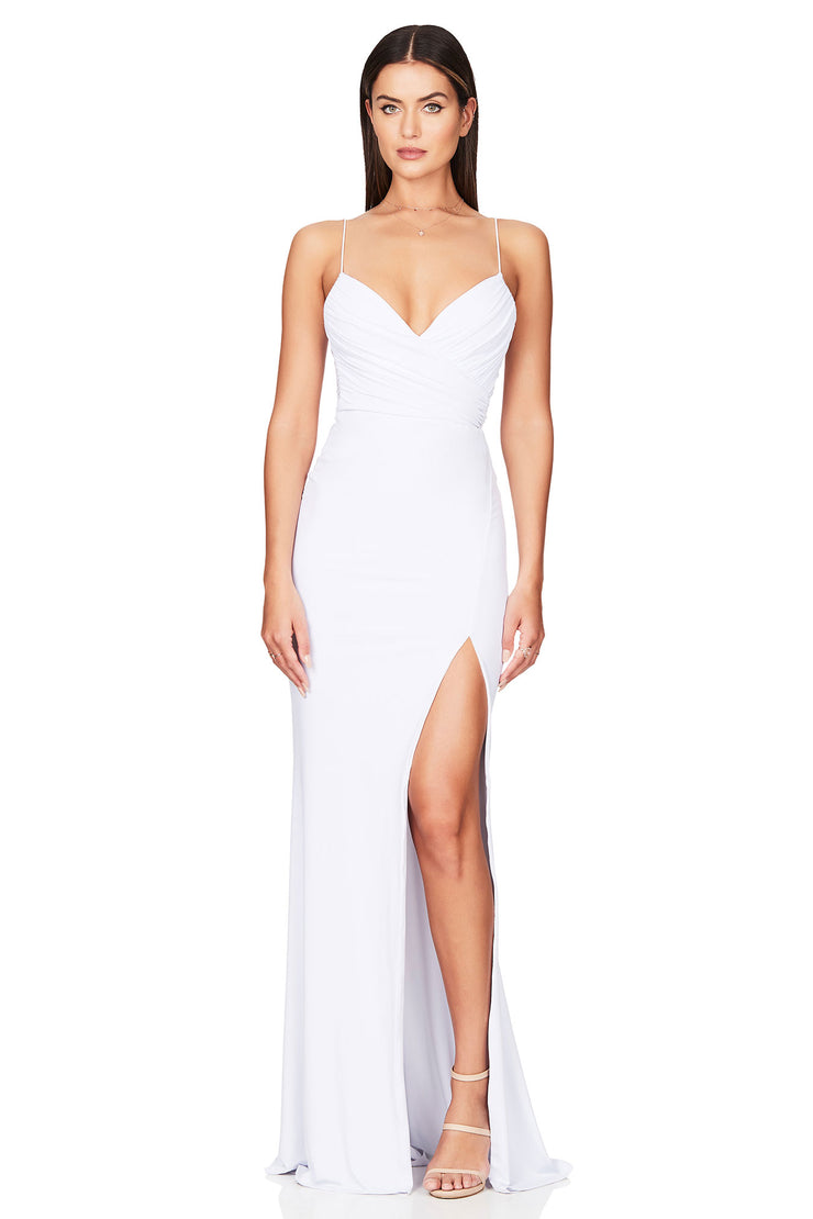 Nookie Venus Gown - White - SHOPJAUS - JAUS
