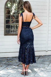 Valentina Dress - Navy - SHOPJAUS - JAUS