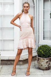 Violet Dress - Light Pink - SHOPJAUS - JAUS